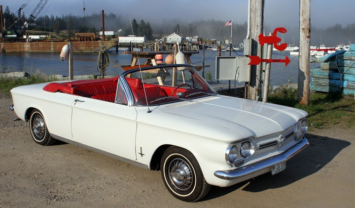 1962 Corvair Monza Convertible SOLD California