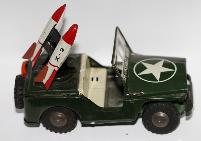 Military Jeep with Rockets