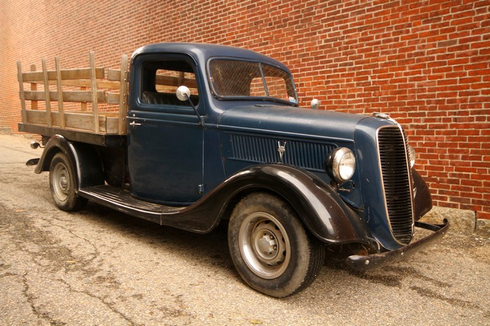1937 ford stake bed truck -- sold (washington, dc) - $0