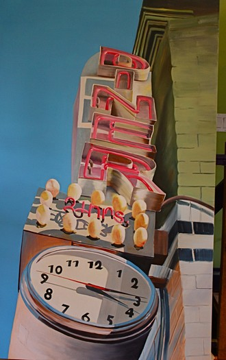 Diner Time 39x64