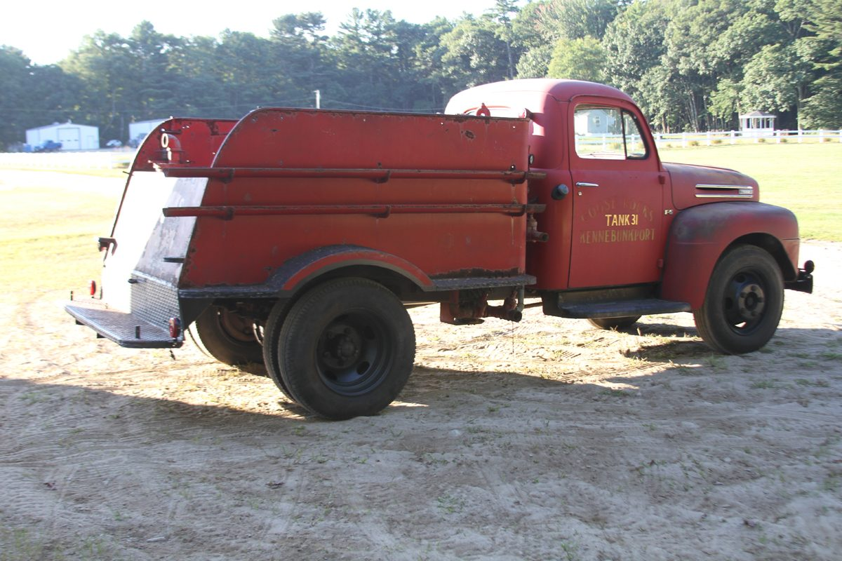 1948 Ford F5 Truck Rear End Data Set