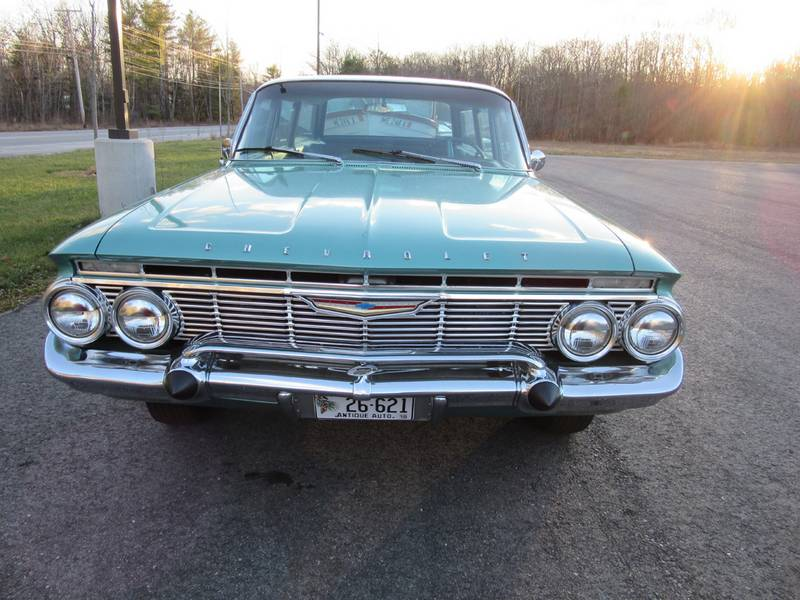 1961 Chevrolet Belair Parkwood Station Wagon For Sale Or