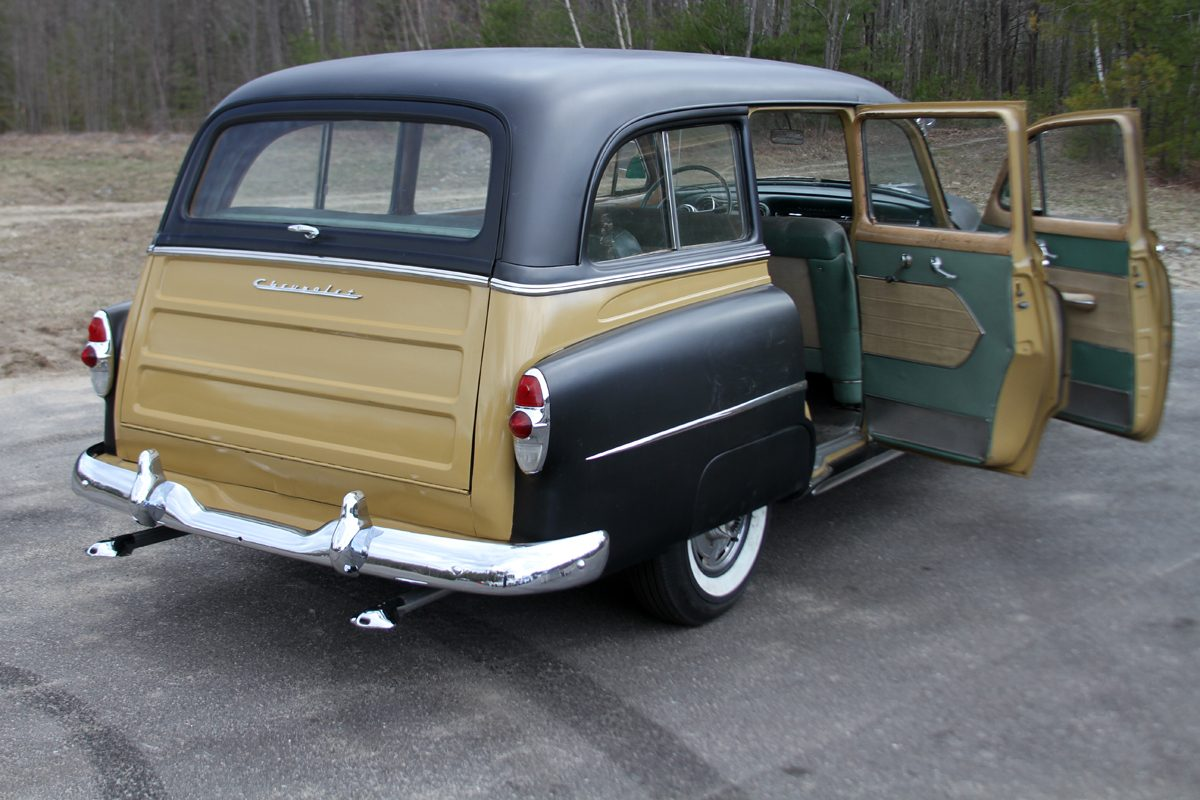 1953 Chevrolet Chevy 210 Deluxe Station Wagon for sale trade