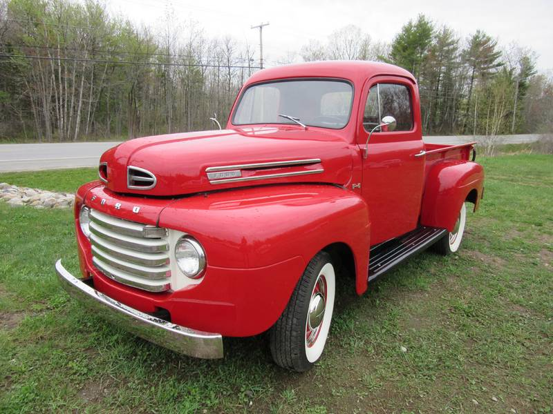 1949 ford f1 pickup truck motorland fomoco arundel maine classic car. Black Bedroom Furniture Sets. Home Design Ideas