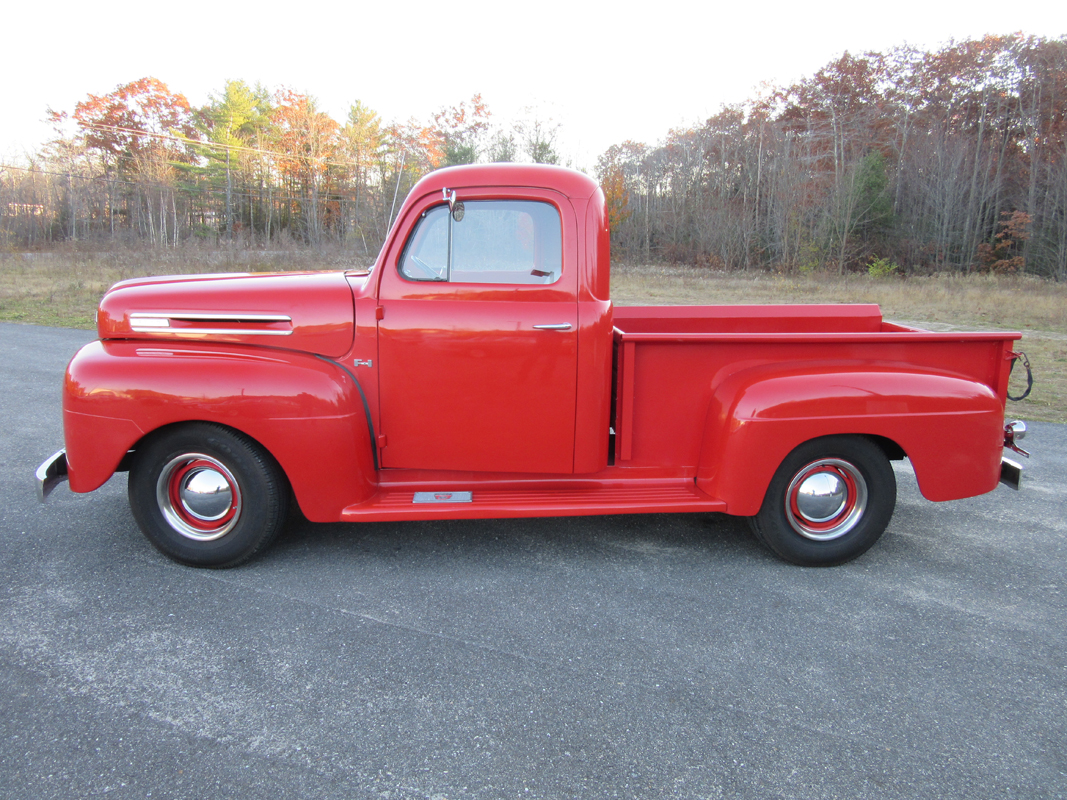 1948 Ford F1 Pickup Truck Motorland Arundel Maine Panel Sold Massachusetts 0