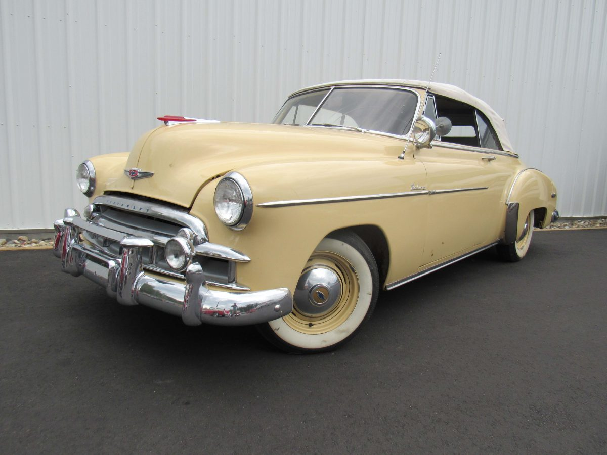 Chevrolet Styleline Deluxe Sold Massachusetts Motorland Llc 1949 Chevy 0