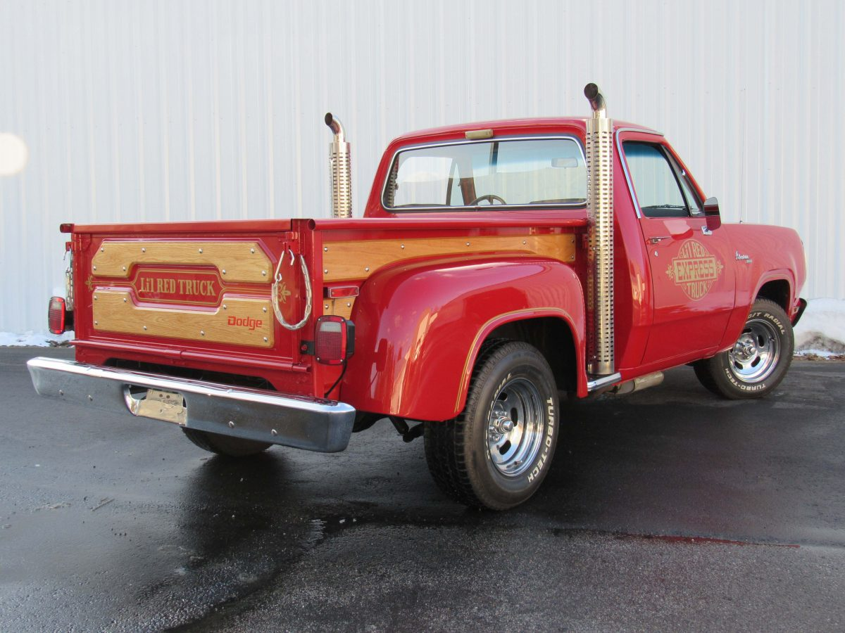 Dodge Lil Red Express Sold New Jersey Motorland Llc
