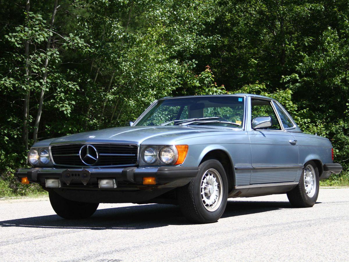 1977 メルセデスベンツ 450sl