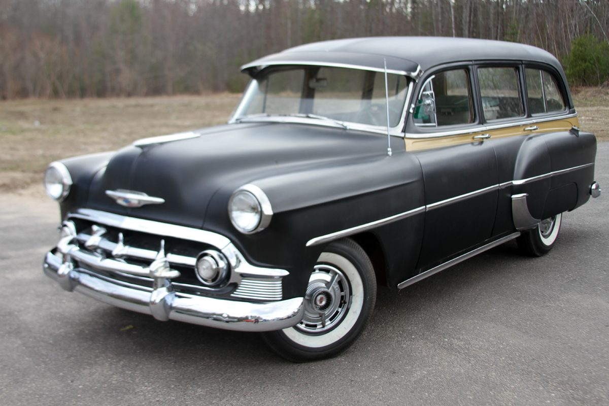 1953 Chevrolet Chevy 210 Deluxe Station Wagon For Sale
